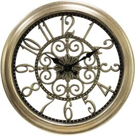 "16"" Round Dial Cutout Wall Clock, Assorted Styles thumb"