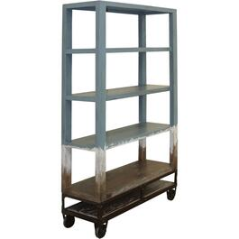 5 Tier Blue Urbana Village Bookcase thumb