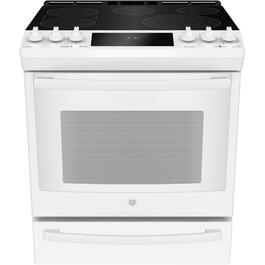 "30"" 5.3 cu. ft. White Slide-In Electric Range thumb"