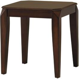 Walnut Square End Table thumb