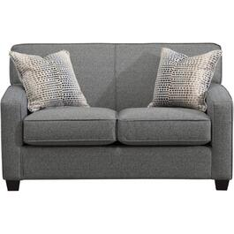 Fortress Navy Loveseat thumb
