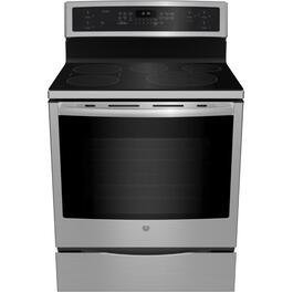 "30"" Stainless Steel Smooth Top Electric Induction Range thumb"