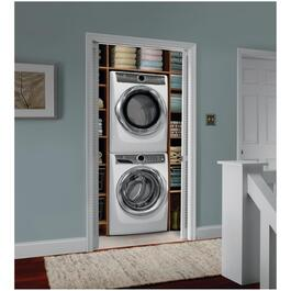 5.2 cu. ft. White Front Load Steam Washer thumb