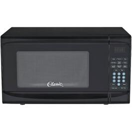 700 Watt .7 Cu.Ft. Black Countertop Microwave Oven thumb