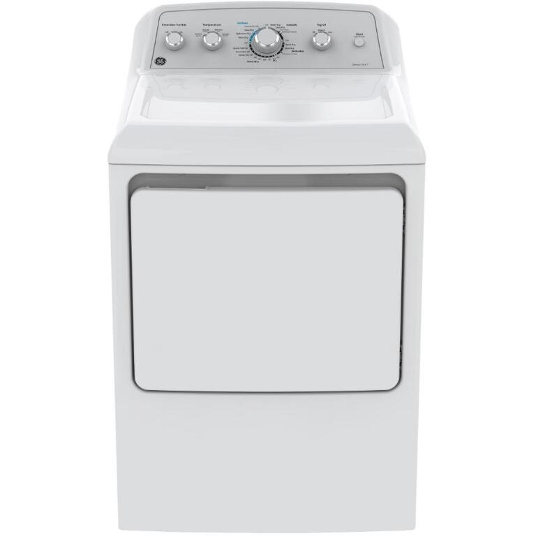 GE:7.2 cu. ft. Front Load Dryer (gtd45ebmkws) - White