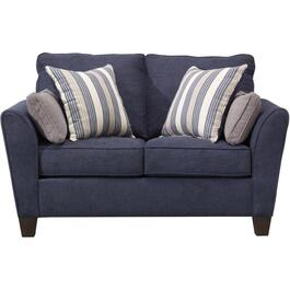 Prelude Navy Loveseat thumb
