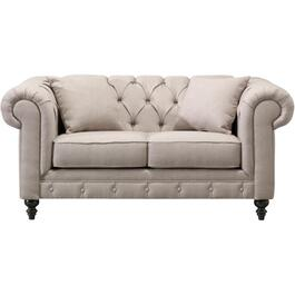 Taupe Essex Loveseat thumb