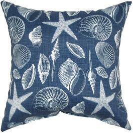 "16"" Square Blue Marine Throw Pillow thumb"