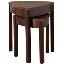 2 Piece Walnut Nesting Tables thumb