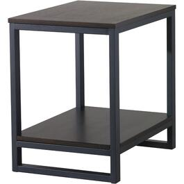 Metal/Wood Kellen Square End Table thumb