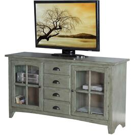 "64"" x 19"" x 35"" Green Elements TV Console thumb"