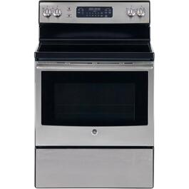 "30"" Stainless Steel Self Cleaning Smooth Top Electric Range thumb"