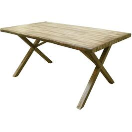 "59"" x 36"" Charlotte Rectangular Wood Look Dining Table thumb"