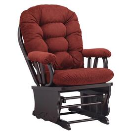 Burgundy Bedazzle Rocker Glider thumb