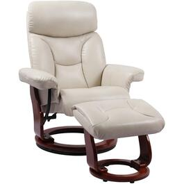 Taupe Emmie II Recliner, with Ottoman thumb