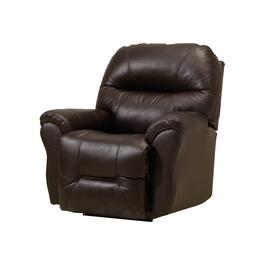 Brown Leather Match Wall Hugger Recliner thumb