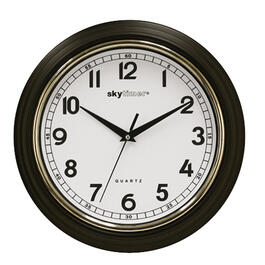 "12"" Round Classic Kitchen Wall Clock, Assorted Colours thumb"