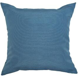 "16"" Square Solid Navy Throw Pillow thumb"