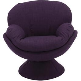 Rio Purple Pub Accent Swivel Chair thumb