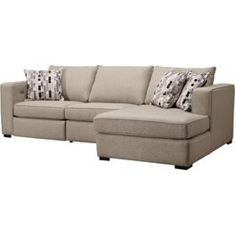 2 Piece Force Sand Power Motion Sofa Sectional thumb