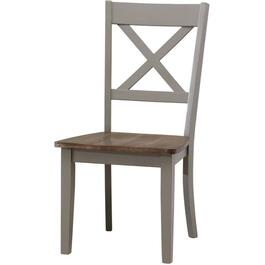 Grey A La Carte Wood Side Chair thumb