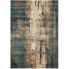 6' x 8' Ashbury Grey/Teal/Cream Organics Area Rug thumb