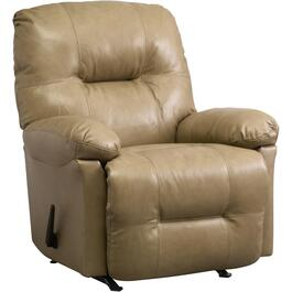 Zaynah Stone Leather Match Rocker Recliner thumb