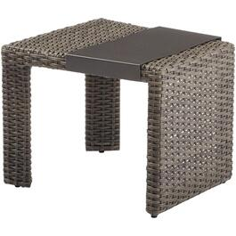 Wedge Boulder Creek Wicker Side Table thumb