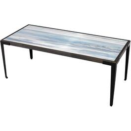 Seaside Wood Rectangular Cocktail Table thumb