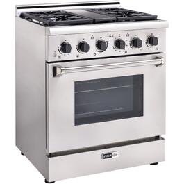 "30"" Stainless Steel Off-Grid Propane Range thumb"