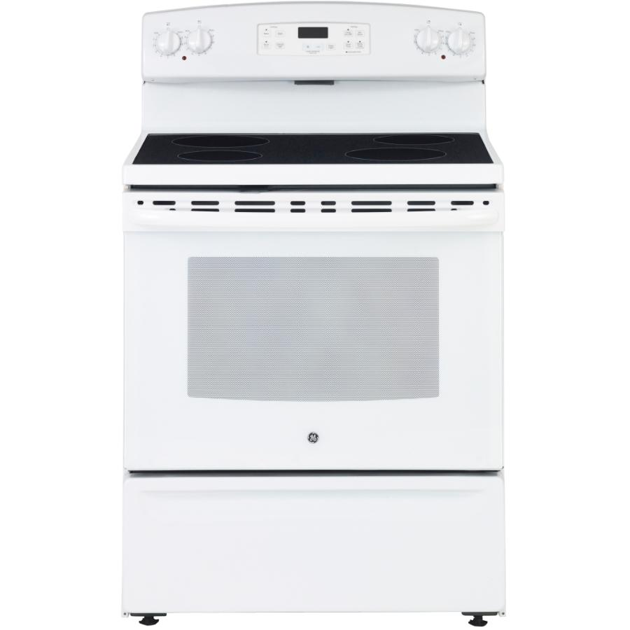 Manual Clean Smooth Top Electric Range