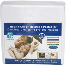Double Size Health Comfort Waterproof Terry Cloth Mattress Protector Cover thumb