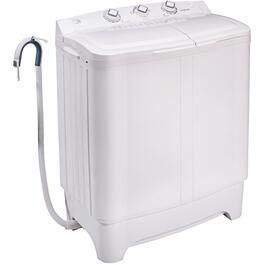 2.3 cu. ft. White Portable Off Grid Washing Machine thumb