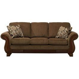 Khaki Brown Simplicity Sofa thumb