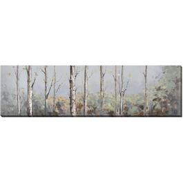 "20"" x 72"" Mellow Woodland Wall Plaque thumb"