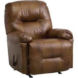 Zaynah Saddle Leather Match Rocker Recliner thumb