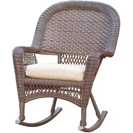 Chesapeake Wicker Rocking Chair, with Cushion thumb