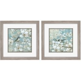 "2 Pack 15"" x 15"" Chickadees Framed Plaques thumb"