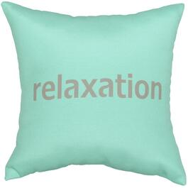 "16"" Square ""Relaxation"" Throw Pillow thumb"