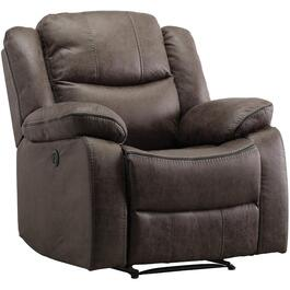 Polished Grey Klaus Power Rocker Recliner thumb
