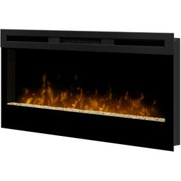 "34"" Black Wickson Wall Mount Electric Fireplace thumb"