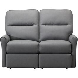Dancer Grey Power Recliner Loveseat thumb