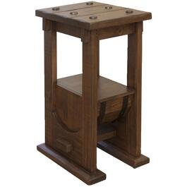 Bourbon Square Chair Table, with Wood Barrel bottom thumb