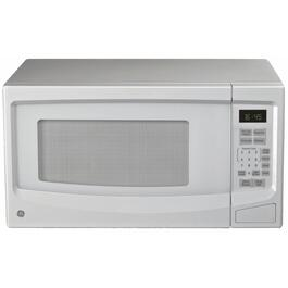 1100 Watt 1.1Cu.Ft. White Countertop Microwave Oven thumb