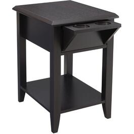 1 Shelf Melot Rectangular Chairside Table thumb