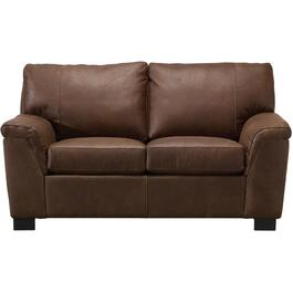 Breyer Bark Leather Loveseat thumb