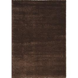 8' x 11' Boulevard Soft Shiny Brown Area Rug thumb