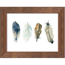 "16"" x 20"" Feather Collection 1 Framed Plaque thumb"