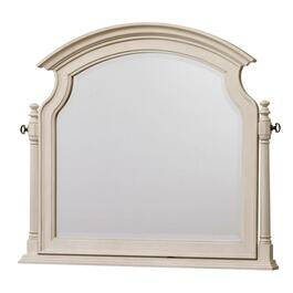 "45.4"" x 39.5"" Antique White Dresser Mirror thumb"