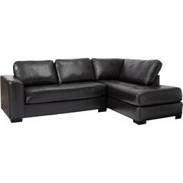 2 Piece Lucky Espresso Sofa Sectional thumb